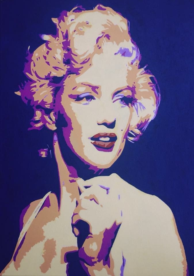 Marilyn Monroe by Kaskad